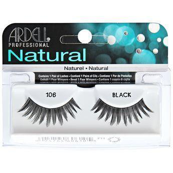 Ardell Natural Black Eyelashes #106 (4PC)