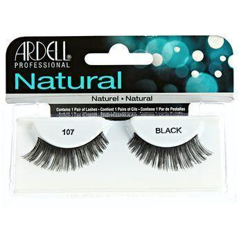 Ardell Natural Black Eyelashes #107 (4PC)