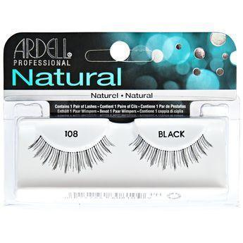 Ardell Natural Black Eyelashes #108 (4PC)
