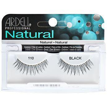 Ardell Natural Black Eyelashes #110 (4PC)