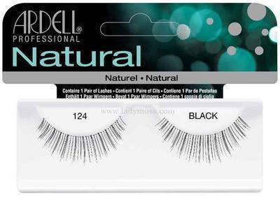 Ardell Natural Eyelashes #124 (4PC)