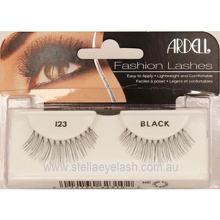 Ardell Natural Eyelash, #123 (4PC)