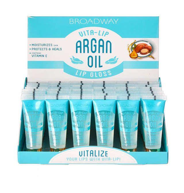 Broadway Vita-Lip Lipgloss Argan Oil Set (48PC)