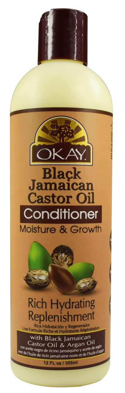 Okay Black Jamaican Moisture Growth Conditioner, 12oz
