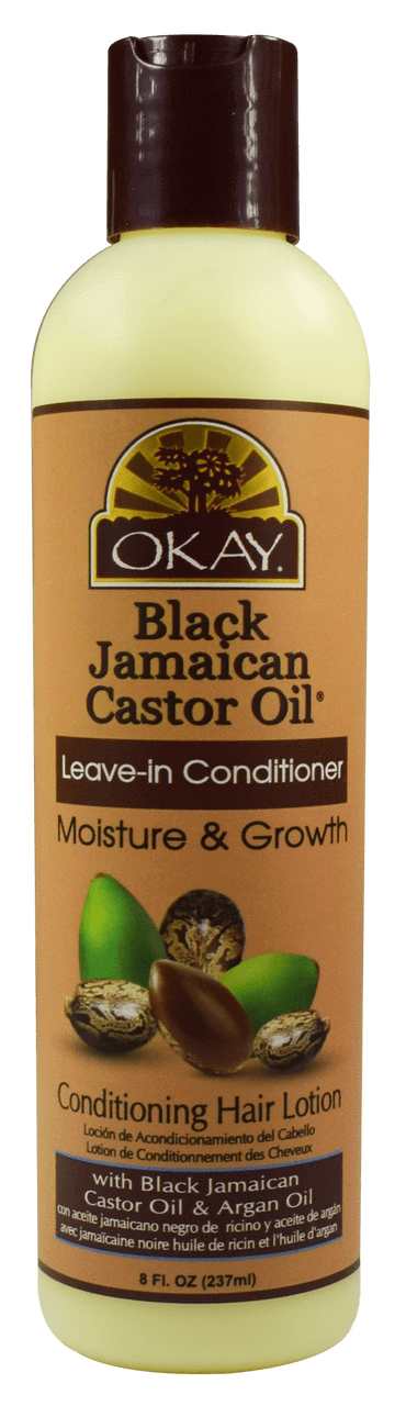 Okay Black Jamaican Castor Leave-In Conditioner, 8oz