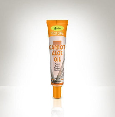 Sunflower Mega Care Tube Hair / Body Oil 1.5oz (2DZ)