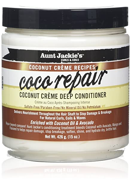 Aunt Jackie's Coco Repair Deep Conditioner 15oz (PC)