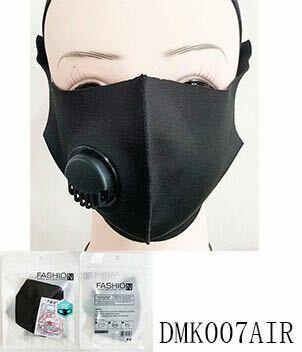 Adult Face Masks with Respirators / Vent (12PC)