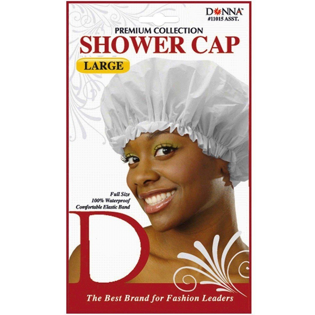 Donna Shower Cap Large Assort #11015 (PC)