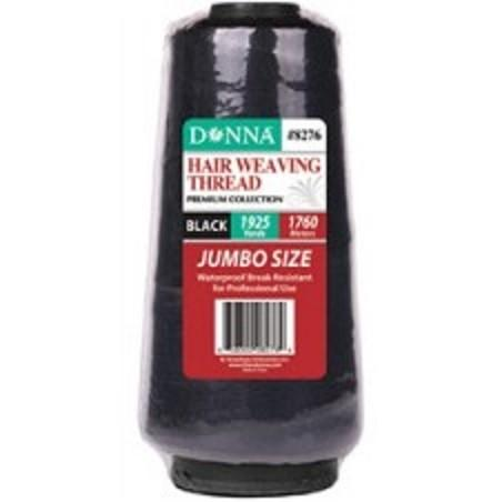 Donna Black Weaving Thread (6PC)