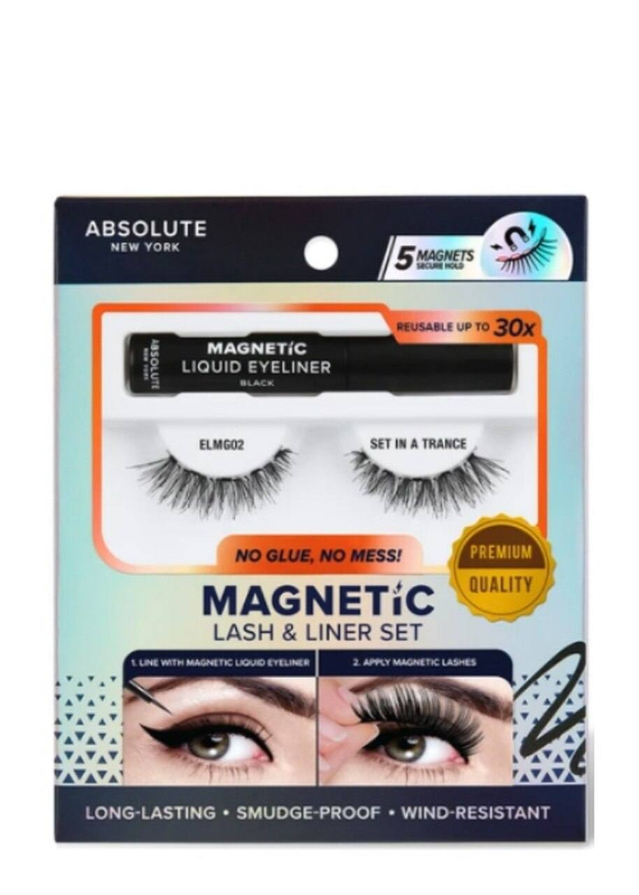 Absolute Magnetic Lash & Liner Set #ELMG02 Set in a Trance (3PC)