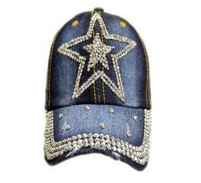 Double Star Denim Hat (PC)