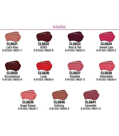 LA Colors Pout Matte / Shiny Lipgloss Set/Display #CAD56 (264PC)
