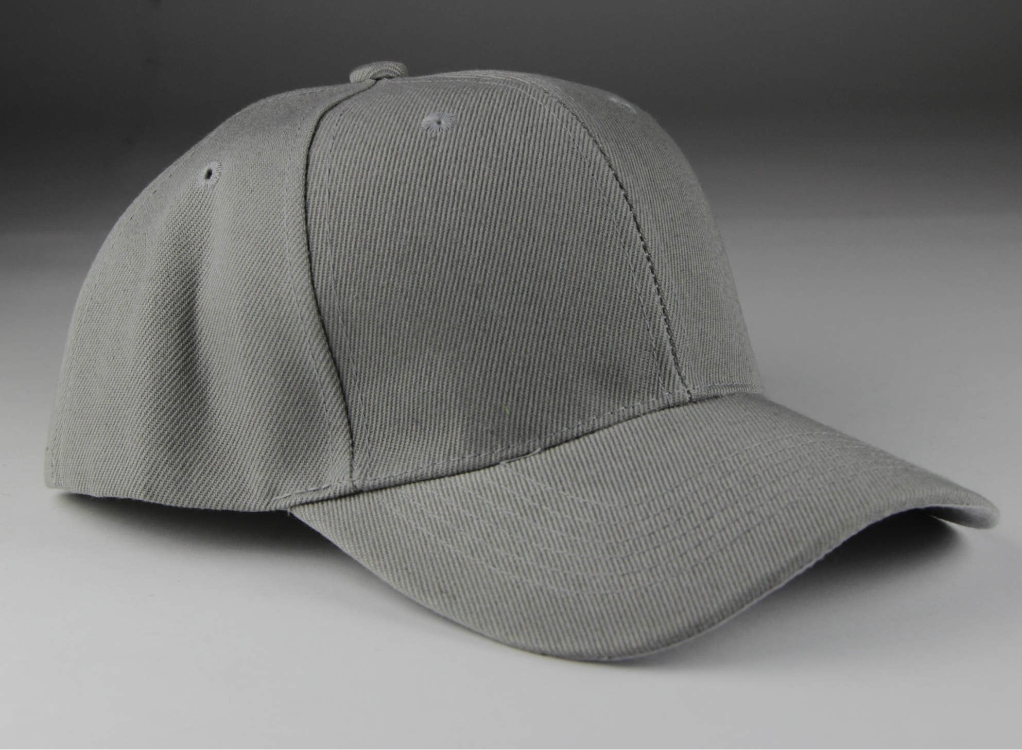 Velcro Baseball Hat Gray (Pc)
