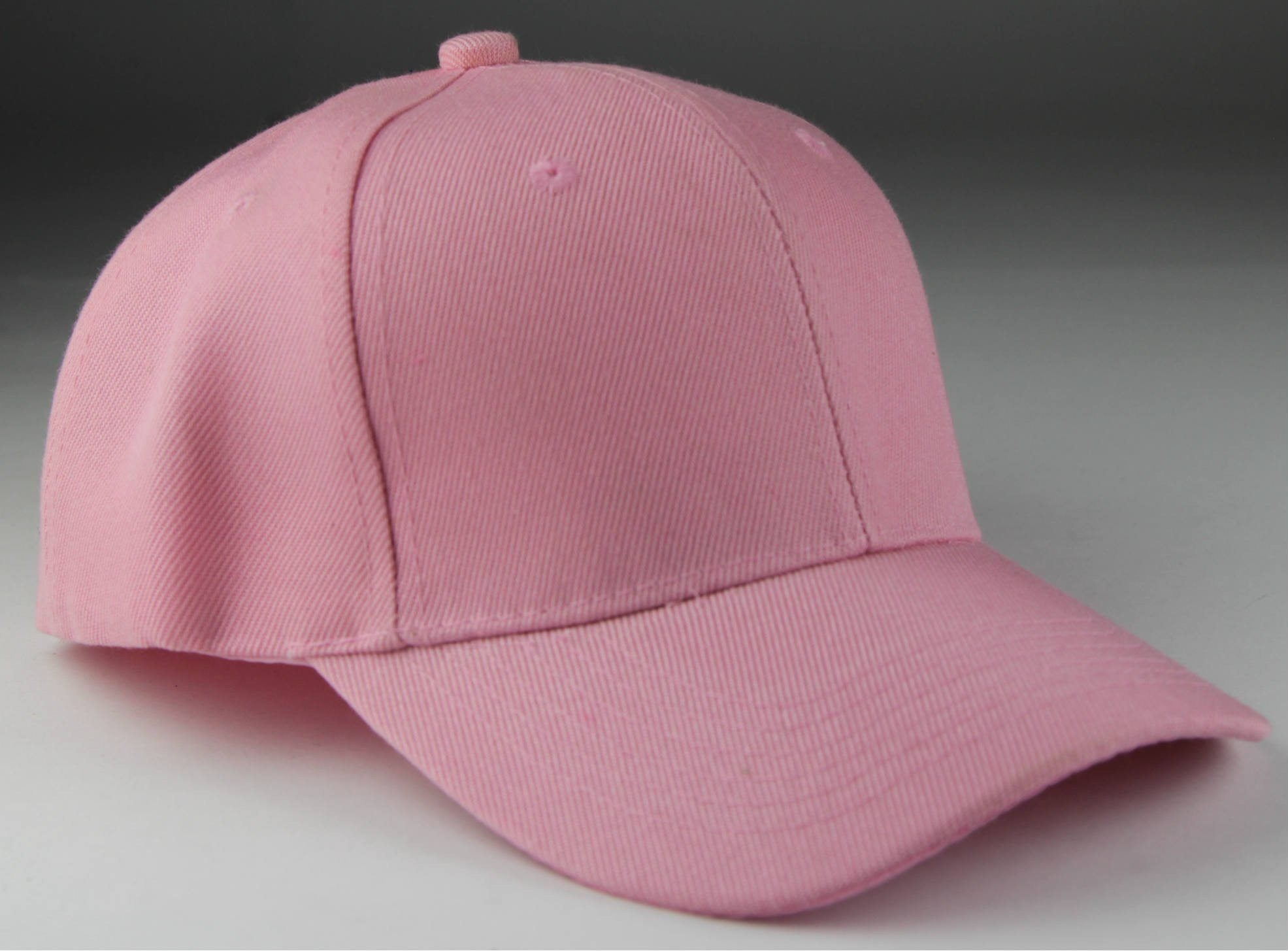 Velcro Baseball Hat Pink (Pc)