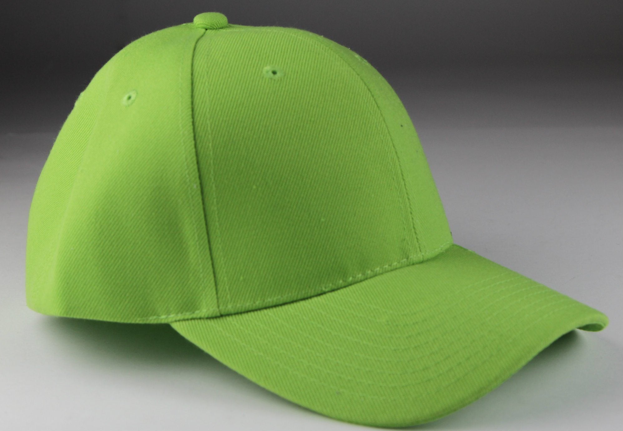 Velcro Baseball Hat Light Green (Pc)