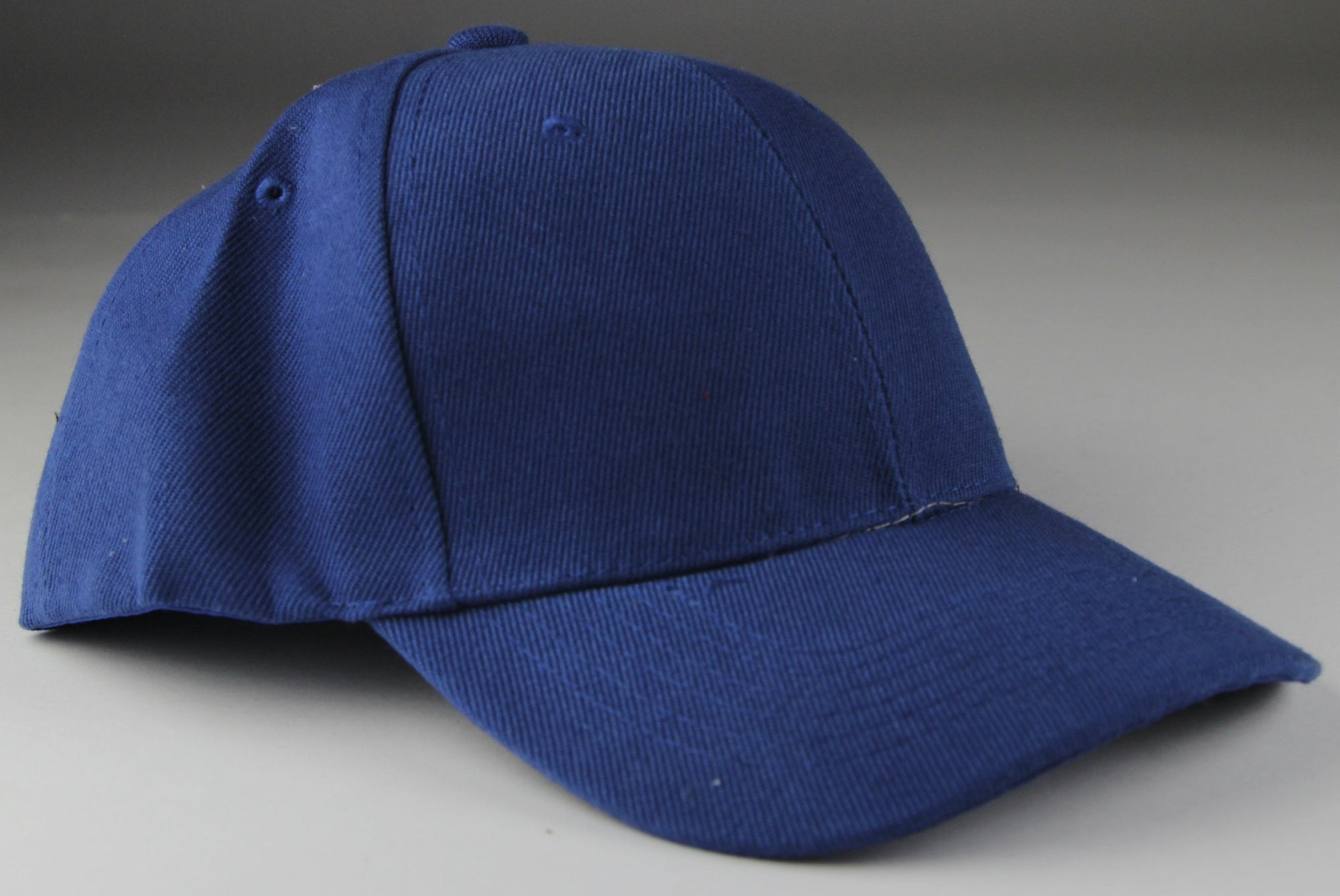 Velcro Baseball Hat Blue (Pc)
