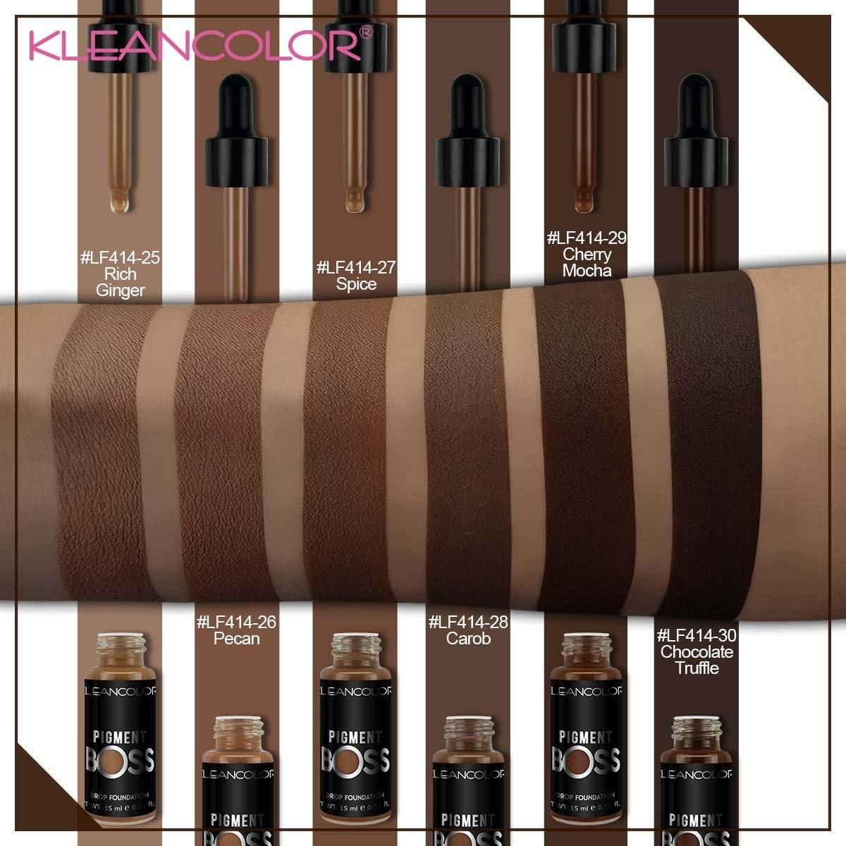 KleanColor Pigment Boss Drop Foundation Set #LF414 (36PC)