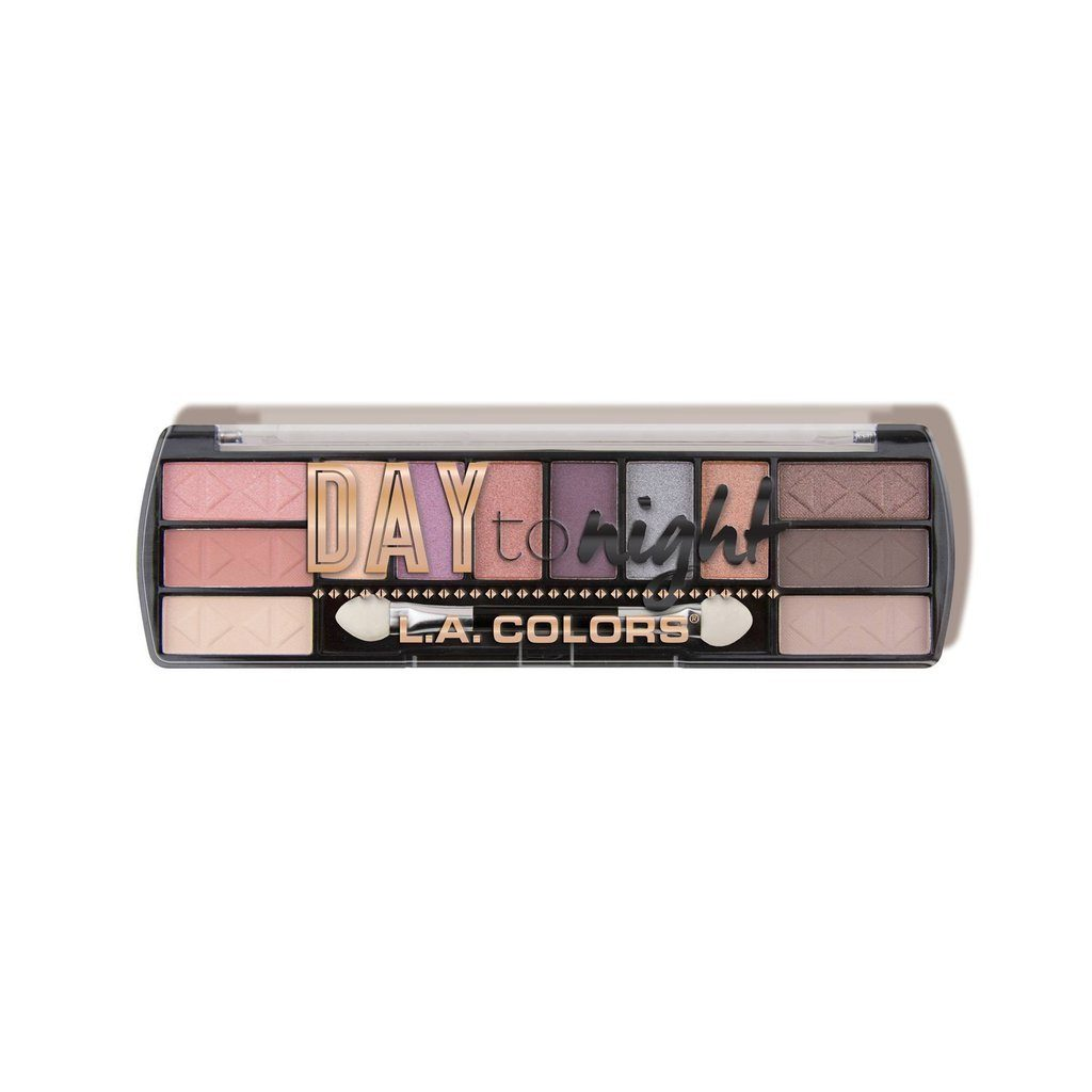 LA Colors Day to Night 12 Color Eyeshadow #CES (3PC)