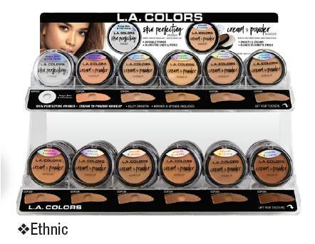LA Colors Cream to Powder Set/Display #CAD97B.1 (108PC)