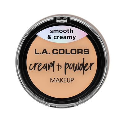 LA Colors Cream to Powder Foundation #CCP (3PC)