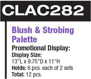 LA Colors Blush & Strobing Palette #CLAC282 (12PC)