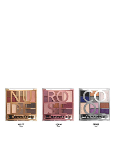 LA Color Block Eyeshadow Set/Display #CLAC441 (27PC)