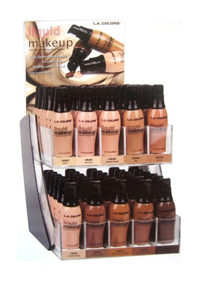 LA Colors Pump Liquid Makeup #CAD29B (60PC)