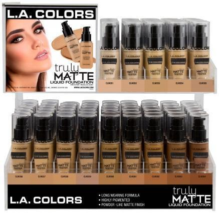 LA Girl Truly Matte Foundation #CAD93.1 (126PC)