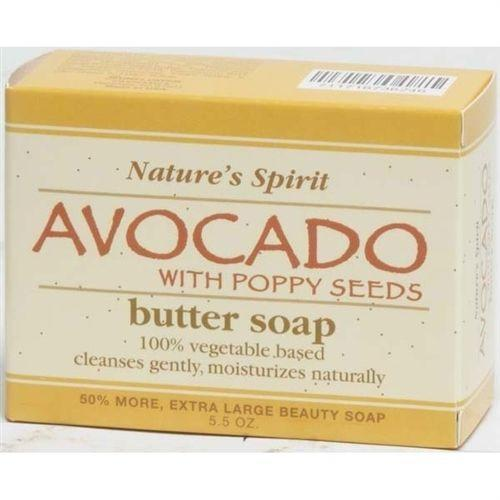 Nature's Spirit Avocado Butter Soap 5oz (6PC)