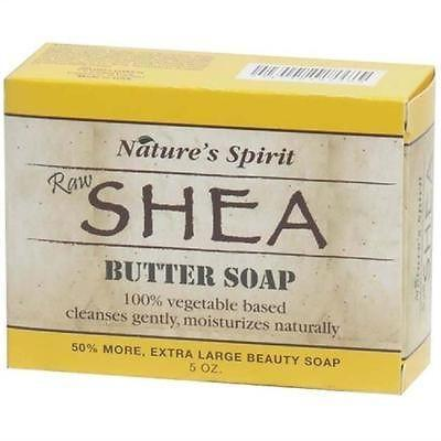 Nature's Spirit Raw Shea Butter Soap 5oz (6PC)