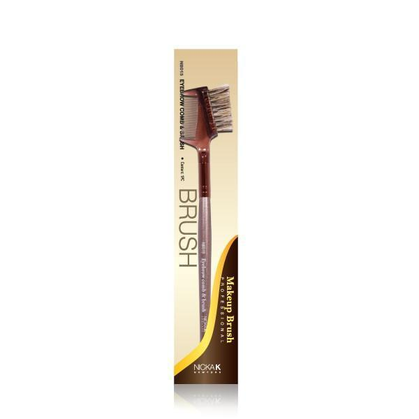 Nicka K Eyebrow Brush & Comb #NB015 (3PC)