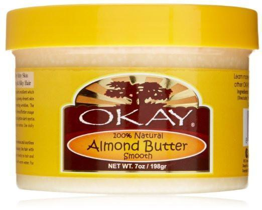 Okay 100% Smooth Almond Butter, 7oz