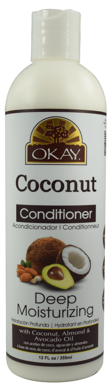 Okay Coconut Moisturizing Conditioner, 12oz