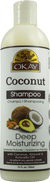 Okay Coconut Moisturizing Shampoo, 12oz
