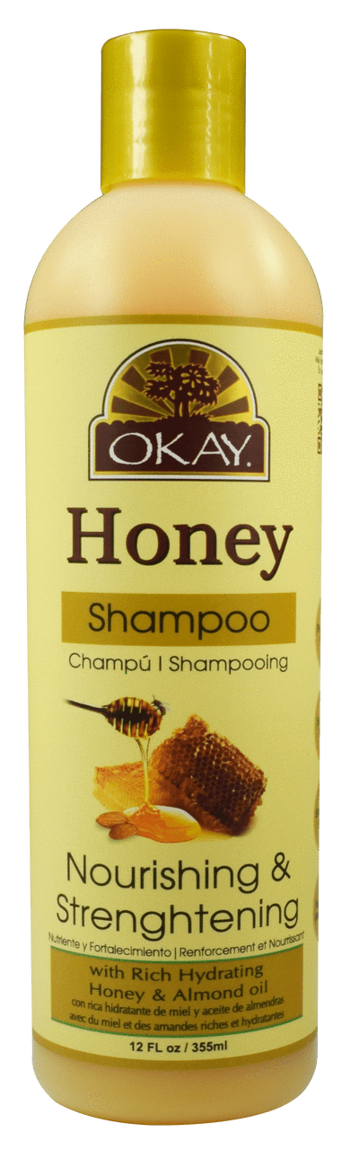 Okay Honey Nourishing Shampoo, 12oz