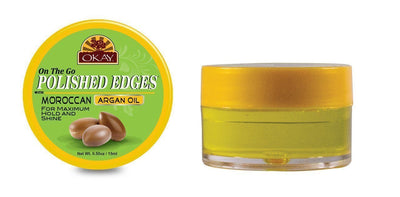 Okay Polished Edges with Moroccan Argan Oil, 0.5oz (12PC)