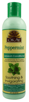 Okay Peppermint Leave-in Conditioner, 8oz