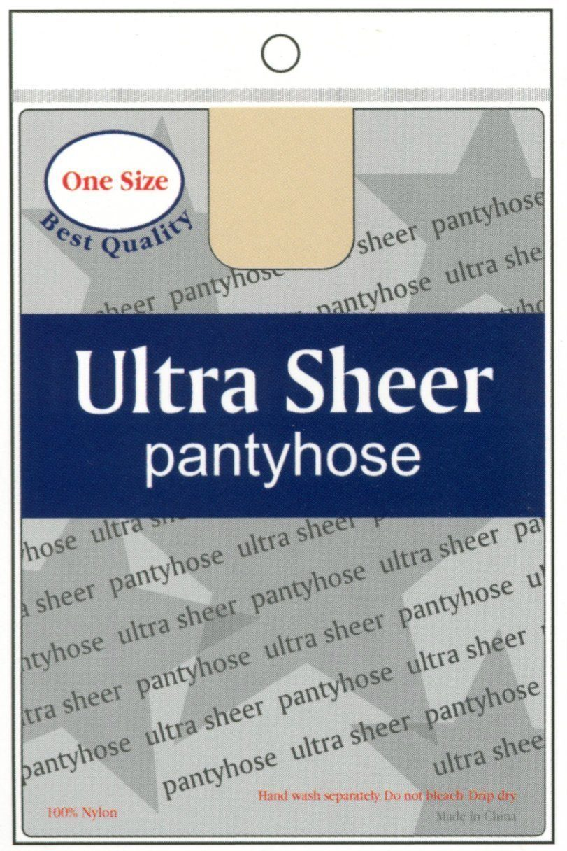 Annie Ultra Sheer Pantyhose - One Size (6PC)