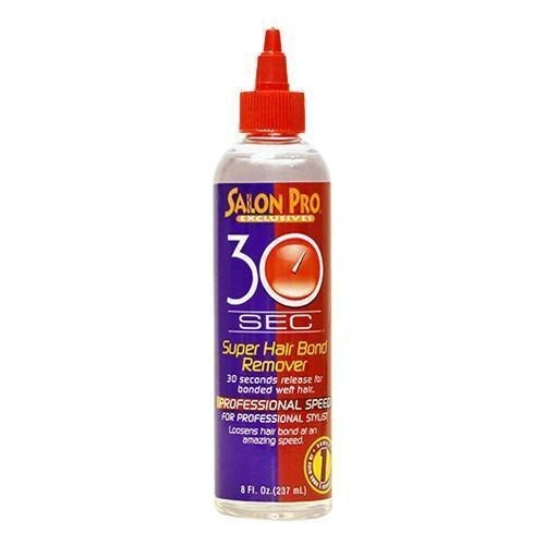 Salon Pro 30 Sec Super Hair Bond Remover Oil