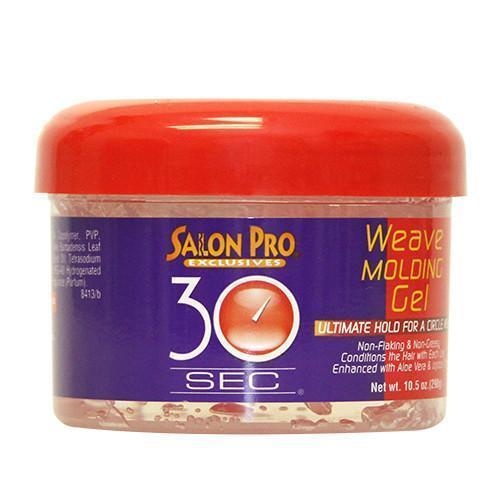 Salon Pro 30 Sec Weave Molding Gel, 10.5oz
