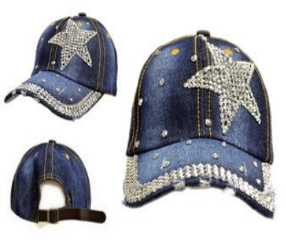 Side Star Denim Hat (PC)