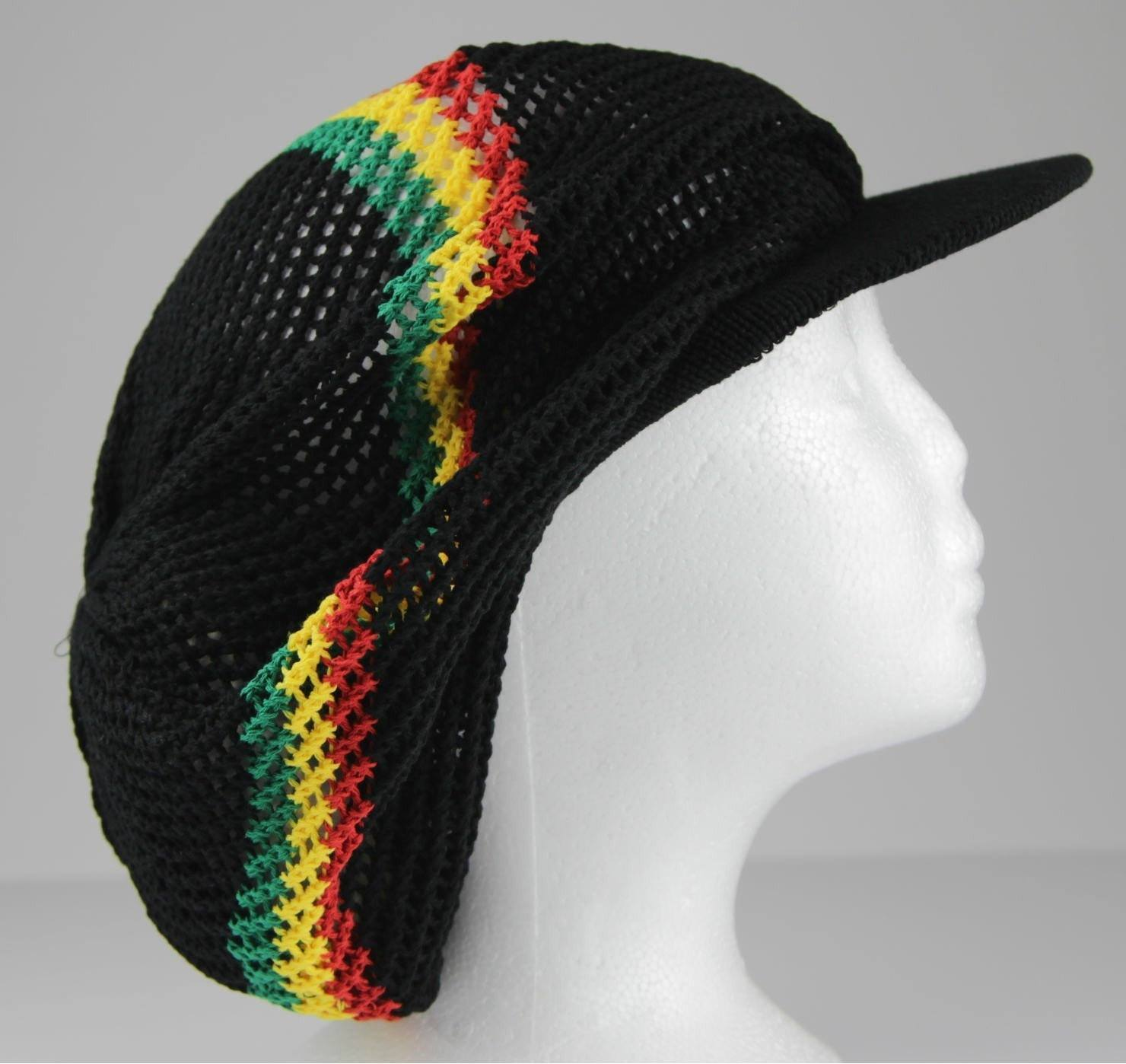 Tam With Cap Black Rasta (Pc)