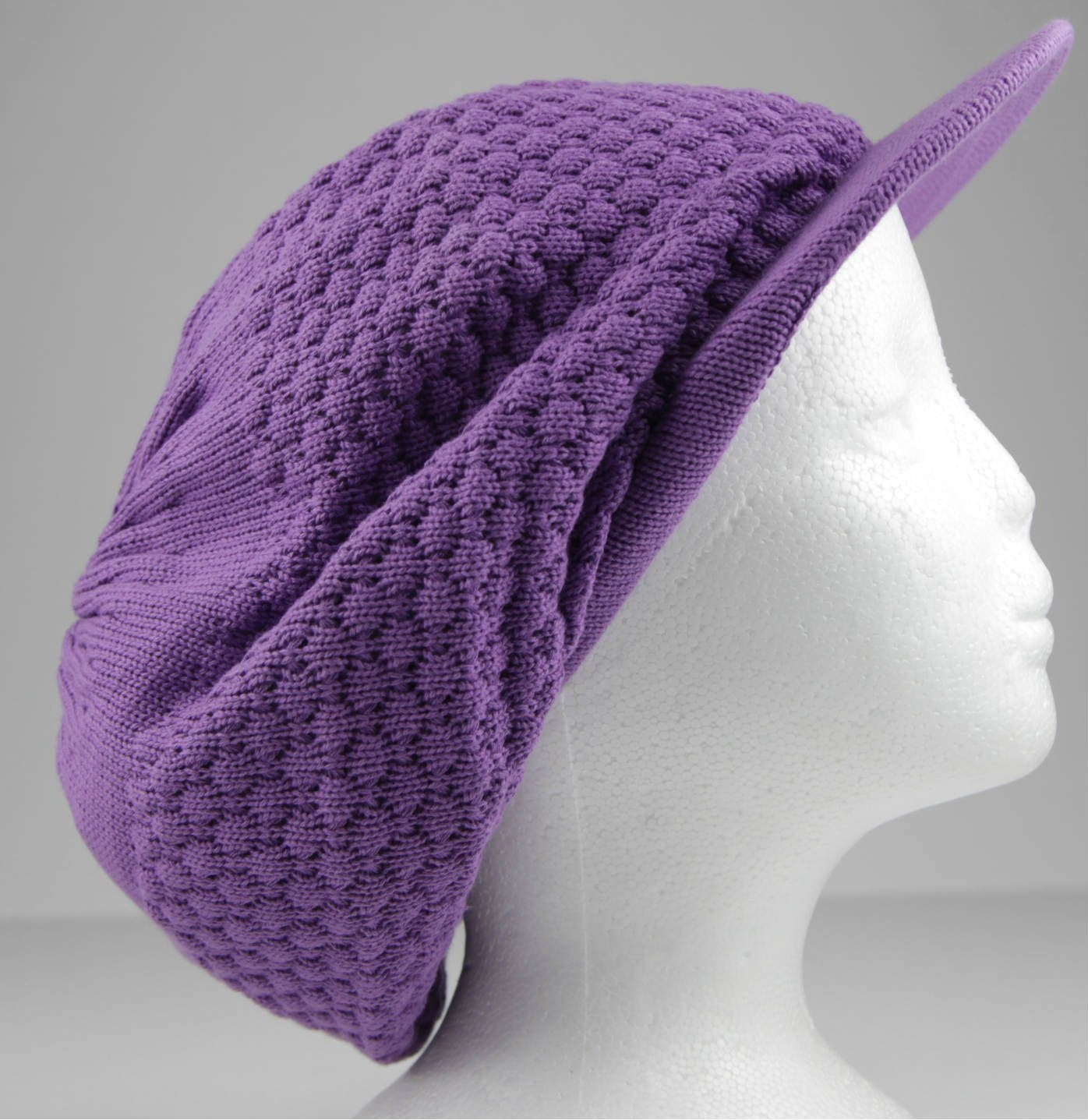Tam With Cap Purple (Pc)