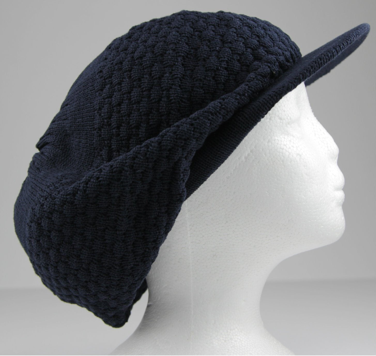 Tam With Cap Dark Blue (Pc)