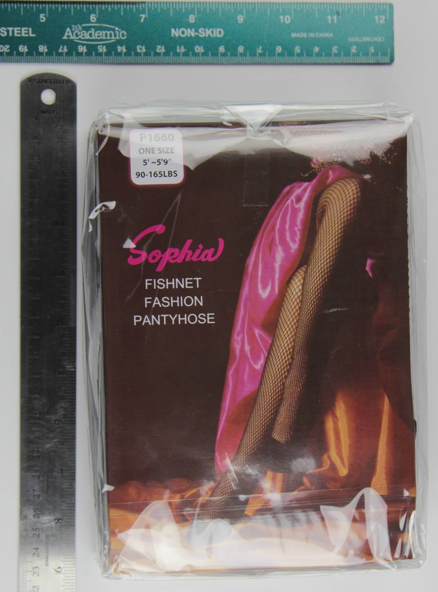 #P1660 Sophia Fishnet Pantyhose One Size (6Pc)
