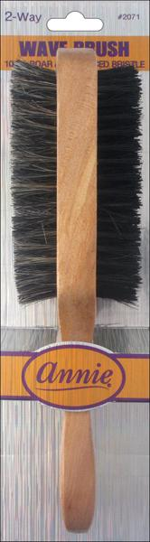 #2071 Annie Two Way Wave Brush (12Pk)