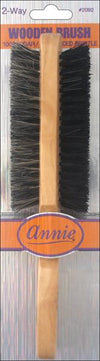 #2092 Annie Two Way Wooden Brush (12Pk)