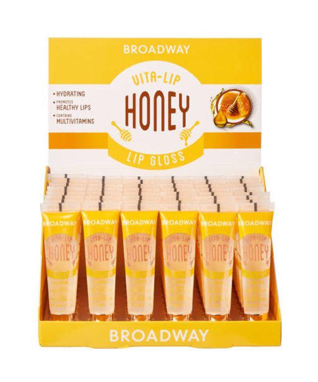 Broadway Vita-Lip Lipgloss Honey Oil Set (48PC)