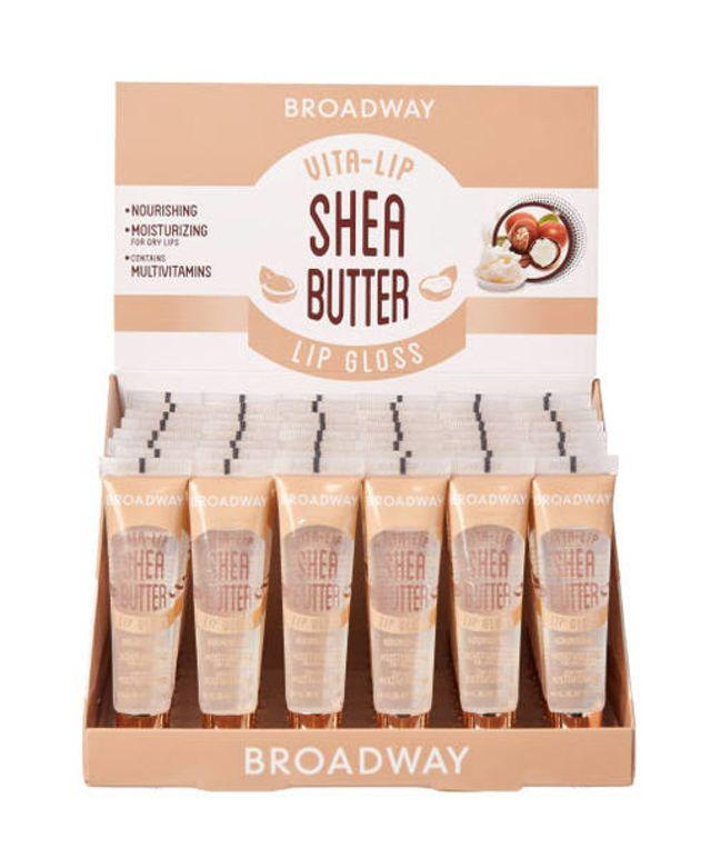Broadway Vita-Lip Lipgloss Oil Shea Butter Set (48PC)